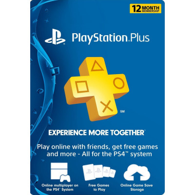 Playstation Plus - 12 months (USA)