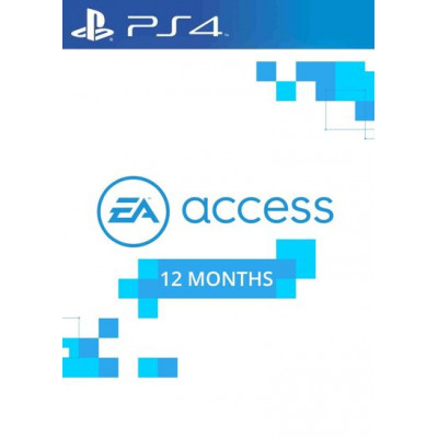 EA Access - 12 months PS4 (USA)