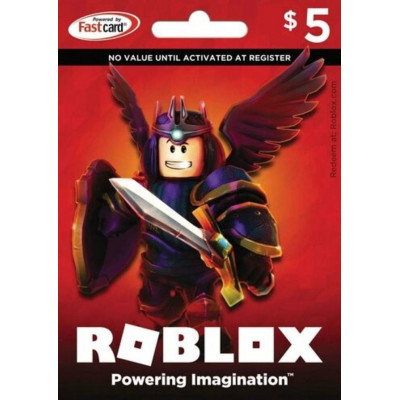 Roblox 5$ Gift Card