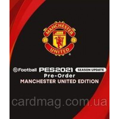 EFootball PES 2021 SEASON UPDATE MANCHESTER UNITED EDITION
