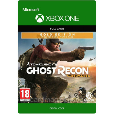 Tom Clancy's Ghost Recon Wildlands Year 2 Gold (XBOX ONE)